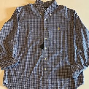 Polo Ralph Lauren Classic Fit Gingham Oxford